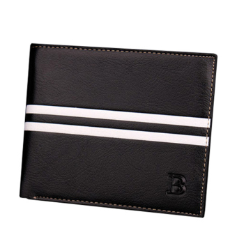 Bóp da nam chữ B BD137 (Đen)