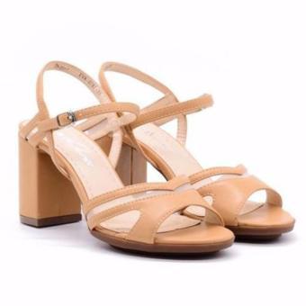 Sandal cao gót Evashoes Eva0787 Vàng bò
