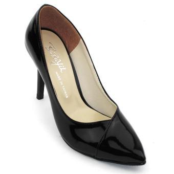 Giày cao gót 9 phân Om Fashion 738 (Đen)