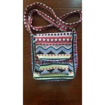 Túi đeo chéo thổ cẩm