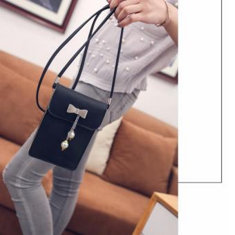 Túi đeo chéo điện thoại Diamon01(đen)