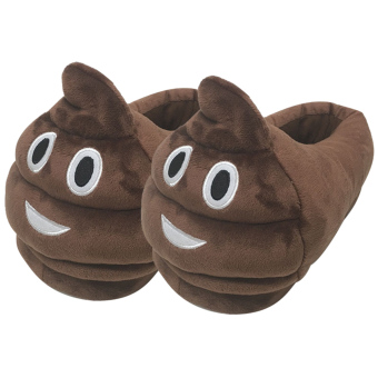 Women Cartoon Face Expression Style Winter Indoor Plush Slipper Soft Warm Plush Slippers Average Size for CN 36-40 / EU 36-40 / US 5-9 Style F - intl