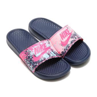 Dép quai ngang nữ Nike FW WMNS BENASSI JDI PRINT 618919-401 (Hồng)