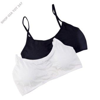 Bộ 2 áo ngực thể thao 3 dây Beautyful Spring GT 247 (Đen và trắng)