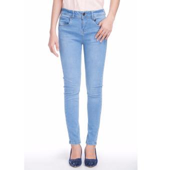 Quần jeans dài nữ THE BLUES BWJ-113R1