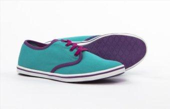 Giày nữ thời trang ANANAS 40100 (Xanh ngọc)