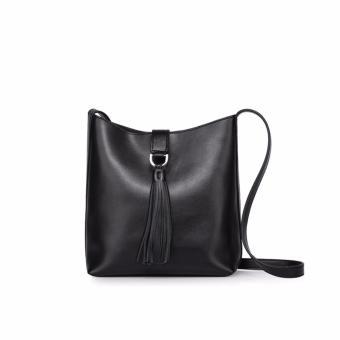 Túi xách nữ cao cấp phong cách Châu Âu QSL093 (Đen) - 4257563