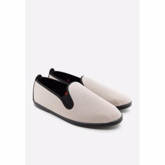Giày slip on Flossy M Carme Fabric Slp On (Beige)
