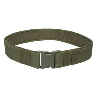 niceEshop Tactical Belt - 2.1 Inch Heavy Duty Belt Combat Gear Utility Nylon Belt With Side Release Buckle For Outdoor Sports And Hunting,Army Green - intl