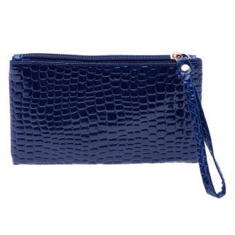 Ví cầm tay thời trang Gogo Bag GgVCT07 (xanh đậm)