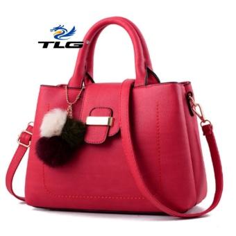 Túi nữ thời trang phong cách Đồ Da Thành Long TLG 208101 2(đỏ)