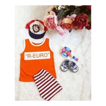 Bộ ngắn Euro cam