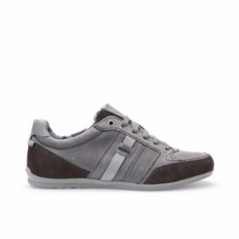 Giày Sneaker Da Geox U HOUSTON A (Xám)