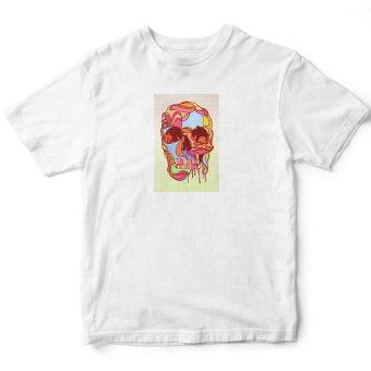 Áo thun nữ Melting Skull Suvi SuviLazTM00119 (Trắng)