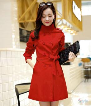 Áo khoác kaki nữ sành điệu TAT16K (Đỏ).