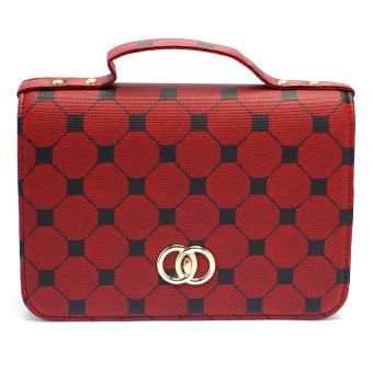 Túi nữ hộp Happy F MS.136.2 (Đỏ)