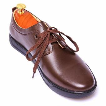 Giày tây nam da thật chính hãng Da Giày Việt Nam VNLMOMT0A451N (Nâu)