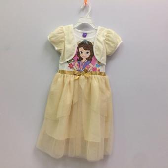 Đầm Bé Gái Disney Sofia Sfdr-0006
