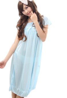 Đầm ngủ Honey Huy Kiệt MS485-2 (Xanh)