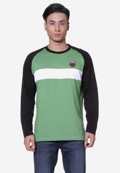Áo phông OASIS Thái Lan MTXL454 (Xanh lá)