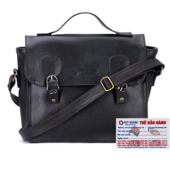 HL6135 - Túi xách hộp vuông Huy Hoàng màu đen