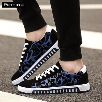 giày nam HOT 2017 - Pettino GV08 (xanh đen)