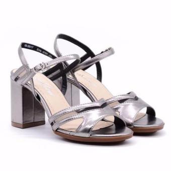 Sandal cao gót Evashoes Eva0787 Bạc