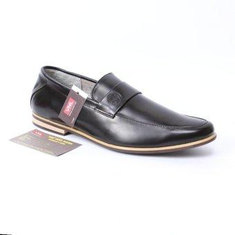Giày da nam da thật cao cấp chính hãng Đen M.E.T.RO VNLMOHYT0A25D