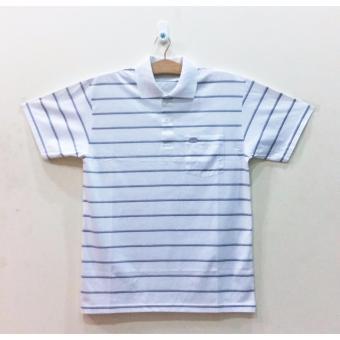 Áo thun cotton nam trung niên THÁI LAN Big Size ATN055 (Trắng)