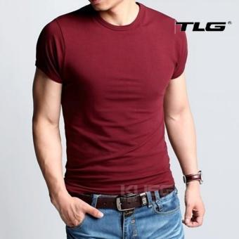 Áo thun nam body cổ tròn Thành Long TLG 206377 (đỏ)