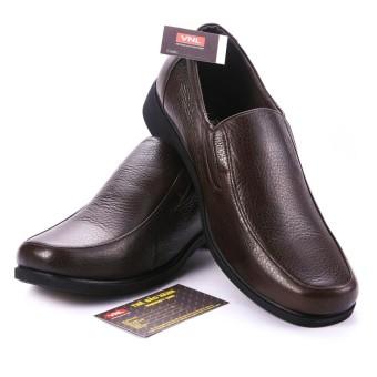 Giày tây công sở nam da giày việt nam vnl5a87n (Nâu).
