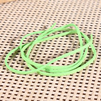 New 3mm Leather Suede Craft Rustic String Ribbon Cord Tag Jewellery Bracelet 1m - intl