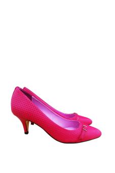 Giày cao gót Nóni nhọn (Đỏ)