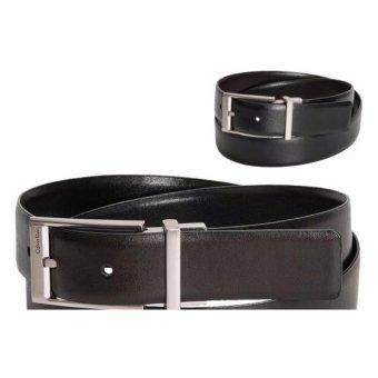 Thắt lưng nam chính hãng Calvin Klein reversible sử dụng 2 mặt dây đen và nâu - size 36 (US)