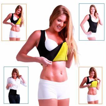 Áo sinh nhiệt giảm mỡ tạo dáng body chuẩn cho nữ (Đen)