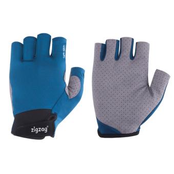 zigzag GLV00407- Găng tay Sport chống nắng UPF50+ (xanh xám)