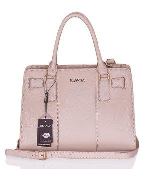 Túi xách nữ da thật Blanda 029 (Kem)