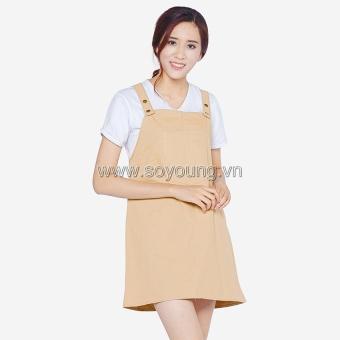Váy Yếm Kaki Trẻ Trung Năng Động Soyoung DRESS 0073C KHA