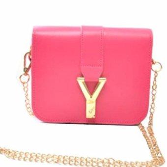 Túi xách tay nữ chữ Y (Đỏ)