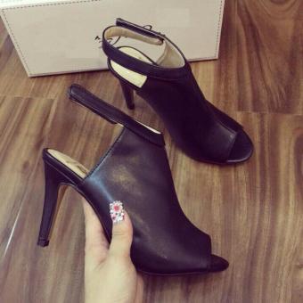 Giày da gót nhọn cao cấp