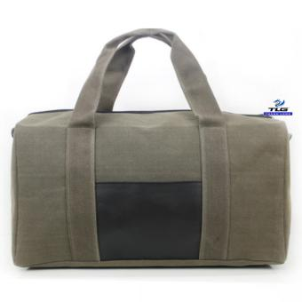 Túi du lich cỡ đại phối da Thành Long TL8139 2(xanh)