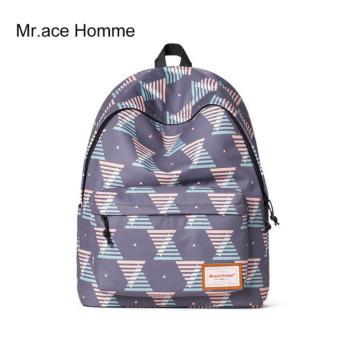 Balo Thời Trang Mr.ace Homme MR16A0231B01 / Tím phối họa tiết