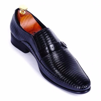 Giày tây nam da thật cao cấp Da Giày Việt Nam - VNL26VCT0D (Đen)