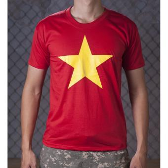 Áo cờ đỏ sao vàng nam Vương Kim Thành ACDSV01NA ( Đỏ )
