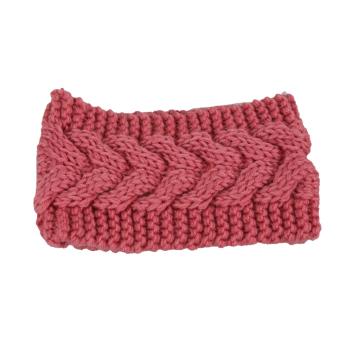 Fancyqube Women Ear Warmer Headwrap Headband Pink
