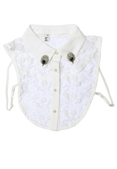 Cổ áo giả sơ mi nữ SoYoung WM SHIRT COLLAR BIBS 002 W