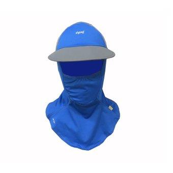 zigzag MAS00307- Nón khẩu trang chống nắng UPF50+( xanh xám)