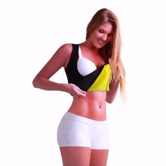 Áo sinh nhiệt giảm mỡ tạo dáng định hình cho nữ (Đen)