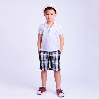Quần bé trai Ugether UKID49 (Caro Đen)