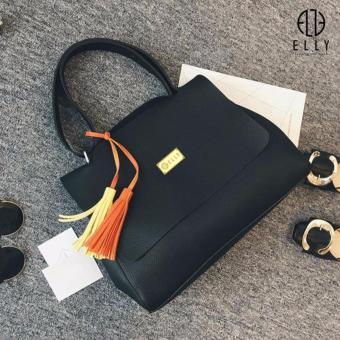Túi xách nữ thời trang cao cấp ELLY – EL36 màu đen